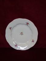 Zsolnay  porcelán süteményes tányér.  Átmérője 19 cm.
