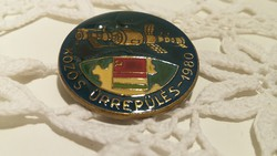 Interkozmosz kitűző, jelvény, magyar-szovjet közös űrrepülés