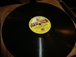 Gramofon lemez  His M.V. Record - Hófehérke és a hét törpe angolul Nagyon szép állapotban!