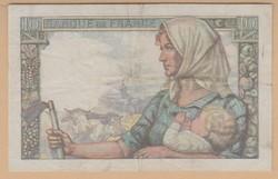 Francia bankjegyek 10 és 20 Frank