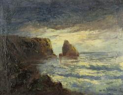 Észak-európai festő 1930 körül : Tengerpart