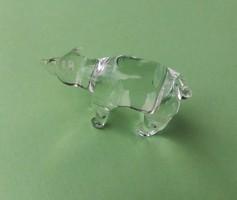 Üveg jegesmedve