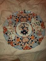 Antik Imari tányér 18 sz. 47 cm átmérőjű.