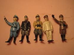 RITKA-Régi műanyag történelmi személyek