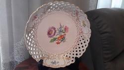 Kardos meisseni áttört szélű tányér 1800-as évekből