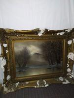 Meseszép Szepesi Kuszka Jenő (1885-1948) eredeti festménye!