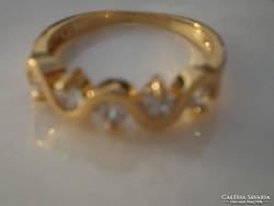 .18 k.arany Gold filled  gyűrű