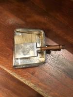 Ezüst, sheffilidi, angol, morzsaseprű készlet...ajándéknak
