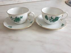 Augarten Wien kávéskészlet és cukortartó