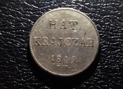 6 Krajcár 1849 Nagybánya.