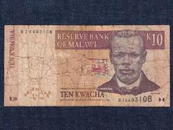 Malawi 10 kwacha bankjegy 2004 / id 12884/