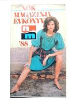 Nők Magazinja Évkönyv 1988. érdekes, klassz cikkekkel:)