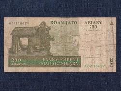 Madagaszkár 200 Ariary bankjegy 2004 / id 12882/