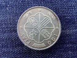 Spanyolország .800 ezüst 100 Peseta 1966 / id 13840/