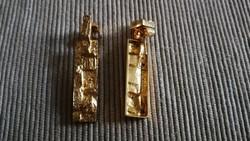 Björn Weckström antik, régi 18 karátos arany fülbevaló.