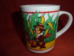 Walt Disney figurás gyerek porcelán csésze