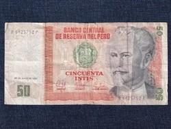 Peru 50 inti bankjegy 1987 / id 12895/