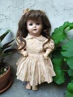 Antik König und Wernicke kislány baba antik baba csodás állapotban