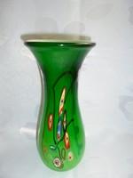Különleges muranoi üveg váza