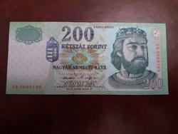 200 Forint 2006 FB enyhén hajtott, Ef.