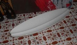 Fehér porcelán jelzett  LEVÉL KÍNÁLÓ 37 x 12 cm