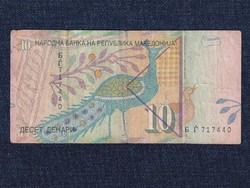 Észak-Macedónia 10 dénár 1996 / id 12845/