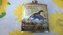Új-Tőkés réce flaska vadászoknak,túrázóknak 1,7 dl-ajándékba is