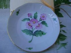 Herendi porcelán virágmintás kis tálka 75 mm átm.
