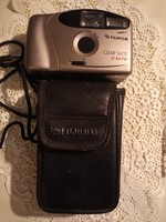 Régi fujifilm fényképezőgép eredeti tokjával