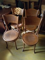 4 db kiváló állapotú Thonet szék