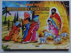 József Attila: Betlehemi királyok - leporelló mesekönyv Radvány Zsuzsa rajzaival