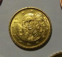Olaszország 10 Cent 2004 Bu, ritka.( kat.25 Euro)