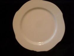 Süti, pizzás ,pecsenyésnek hibátlan 30-cm kristály porcelán hullámos peremrésszel súlyos nehéz