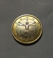 Olaszország 1 Euró 2004, ritka. ( Kat. 35 Euro)