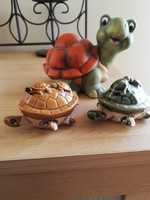 Kerámia teknősök 3 db