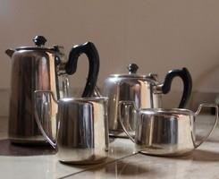 Art deco angol teáskészlet