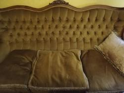 Óarany, antik jellegű ülőgarnitúra eladó