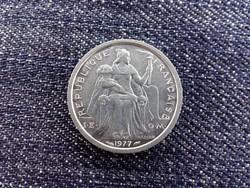 Franciaország Francia Polinézia 1 Frank 1977 / id 13767/