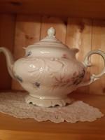 KPM Friderika porcelán(1935-45)teás-kávés kanna