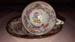 Antik ( 1831 - 1844 ) angol Minton porcelán kávéscsésze