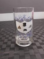 Antik pohár festve