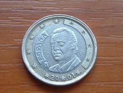 SPANYOL 1 EURO 2001 #