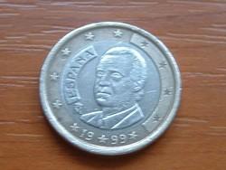SPANYOL 1 EURÓ 1999 #