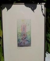 Gross Arnold: Jan van Eyck memorial card