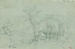 Kelety Gusztáv  1834 -1902 egyedi ceruza rajza.