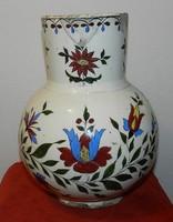 Körmöcbányai mosdó v. vizeskancsó,26,5 cm (3,5 literes) ,sérült