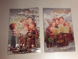 Post Card különleges karácsonyi képeslap gyűjtői darabok