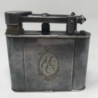 Alfred Dunhill mini ezüstözött sminkkészlet, eredeti, saját dobozával és leírásával