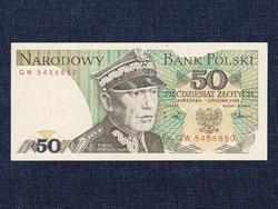 Lengyelország 50 Zloty bankjegy 1988 / id 14123/