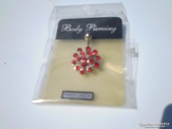 Piros pircing olcsón